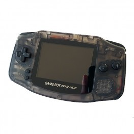 Gameboy Advance Custom - Clear Black