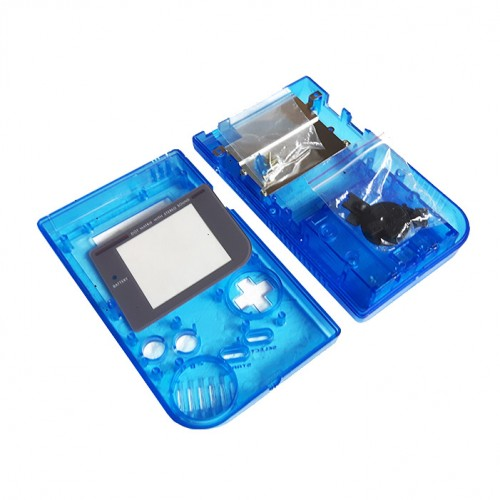 Gameboy shell - Clear Blue