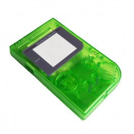Gameboy shell - Clear Green