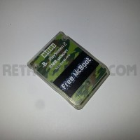 Free McBoot Memory Card - Green Camo Hori - PS2