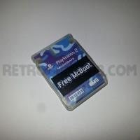 Free McBoot Memory Card - Blue Camo V2 Hori - PS2