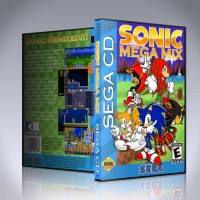 Sonic Mega Mix CD - NTSC