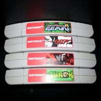 N64 End Labels (20 labels)