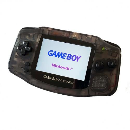 Gameboy Advance Custom - Clear Black