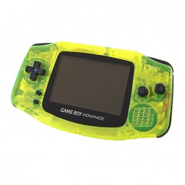Gameboy Advance Custom  - Clear Yellow