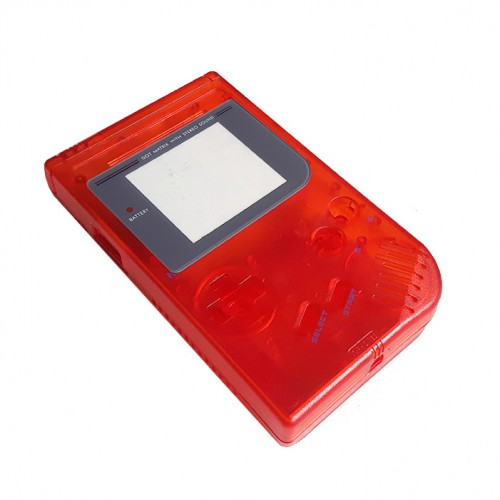 Gameboy shell - Clear Red